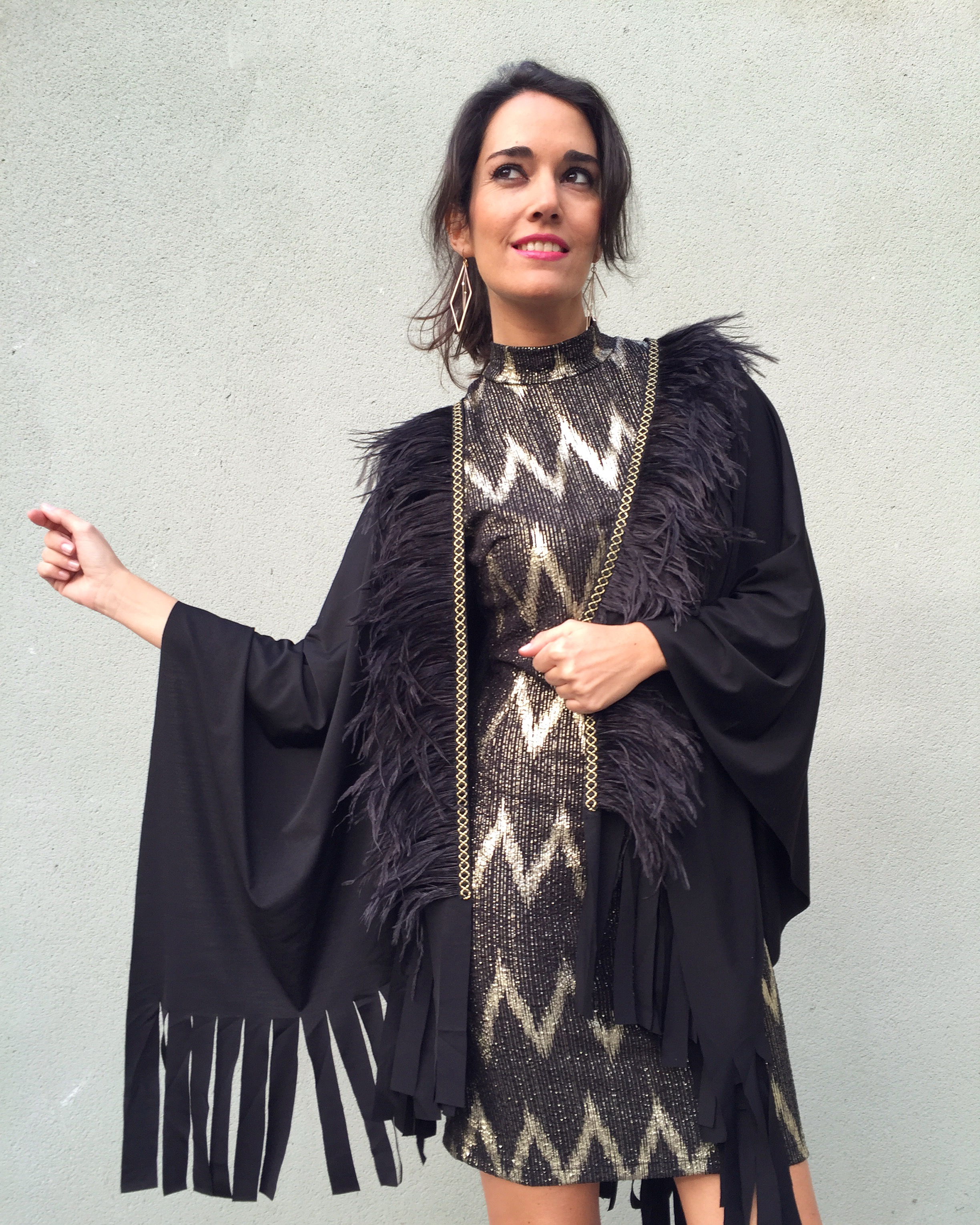 Poncho Dress Evitaloquepuedas